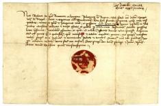List kráľovnej Barbory