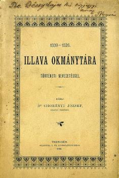 Listinár Ilavy 1339- 1526