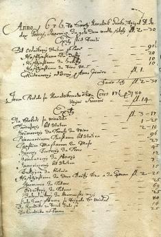 Súpis podlžností, 1676