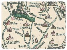 Ilava naLazarovej mape, 1528