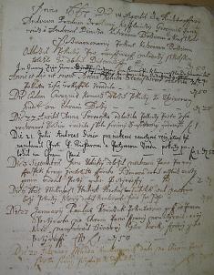 Kniha pokút, 1655