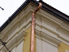 Obnova fasády väznice