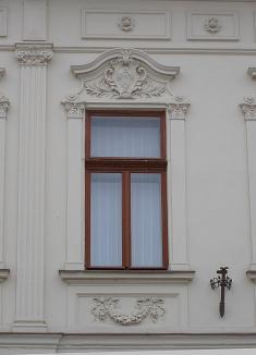 Fasáda pôvodného domu