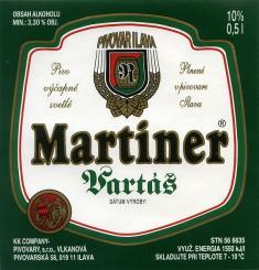 Etikety pivovaru