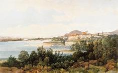 Ilavský hrad, pol. 19.storočia