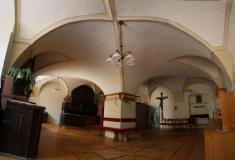 Sakristia farského kostola