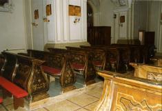 Barokové lavice
