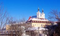 Ilavský hrad aveže barokového kostola