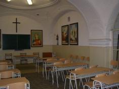 Kaplnka odsúdených nadsakristiou kostola