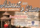 Benefičný koncert a zapálenie 3. adventnej sviečky