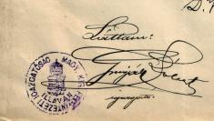Pečiatka trestnice, 1905