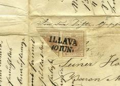 Najstaršia pečiatka pošty