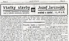 Reklama zilavských novín