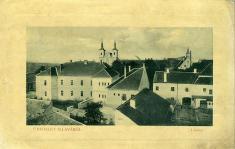 Z mestskej veže okolo roku 1900