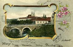 Ilavský hrad amost 1904