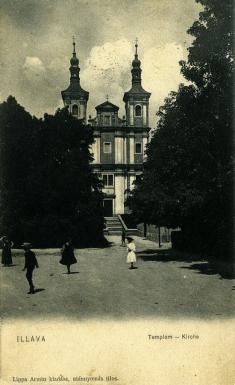 Ilavský kostol, 1906