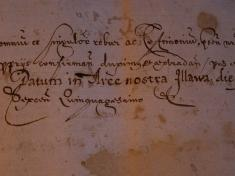 Listina ilavských hradných pánov